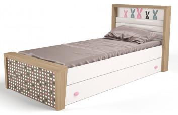 Детская кровать №3 MIX Bunny Розовый ABC-King