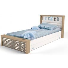 Детская кровать №3 MIX Bunny Голубой ABC-King