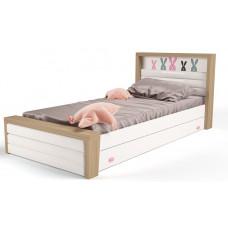 Детская кровать №4 MIX Bunny Розовый ABC-King