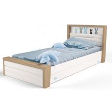 Детская кровать №4 MIX Bunny Голубой ABC-King