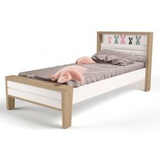 Детская кровать №2 MIX Bunny Розовый ABC-King