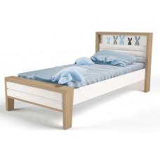 Детская кровать №2 MIX Bunny Голубой ABC-King