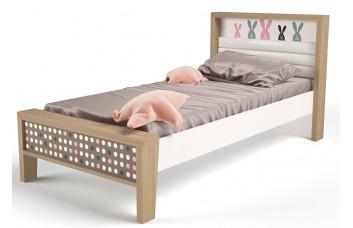 Детская кровать №1 MIX Bunny Розовый ABC-King