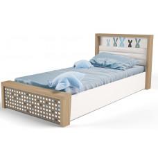 Детская кровать №5 MIX Bunny Голубой с под.механизмом ABC-King