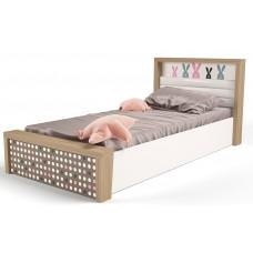 Детская кровать №5 MIX Bunny Розовый с под.механизмом ABC-King