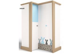 Детский шкаф угловой MIX Bunny Голубой ABC-King