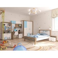 Детская комната MIX Bunny Голубая ABC-King