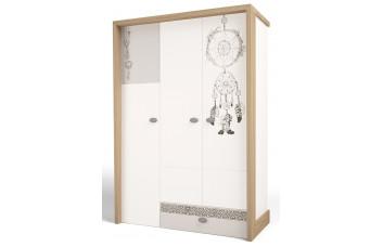 Детский шкаф 3-х дверный MIX Ловец Снов №2 ABC-King