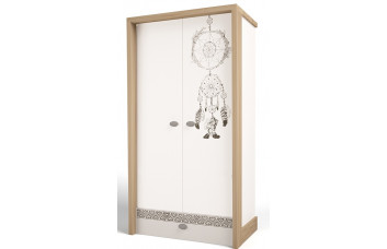 Детский шкаф 2-х дверный MIX Ловец Снов №2 ABC-King