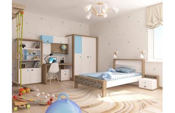 Детская комната MIX Голубая ABC-King