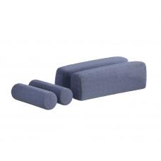 Подушки для диван-кровати (синие)