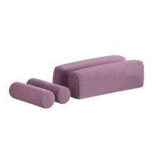Подушки для диван-кровати (розовые)