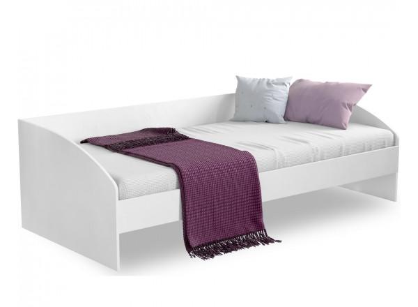 White Кровать-софа 1309, сп. м. 90x200 без матраса CILEK