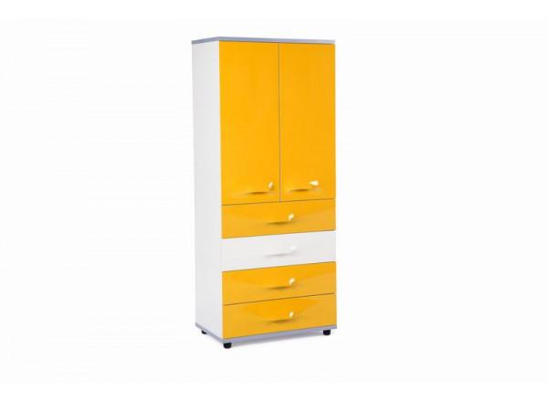Шкаф двухдверный  LASTIC 2 от Futuka Kids