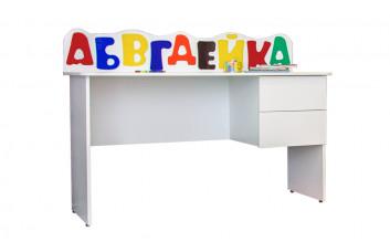 СТОЛ ПИСЬМЕННЫЙ АБВГДЕЙКА МАНДАРИН