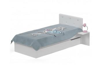 Кровать с мягким изголовьем 120х190 Фэшн от Меблик