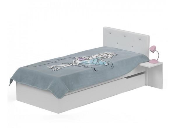 Кровать с мягким изголовьем 190х90 Фэшн от Меблик