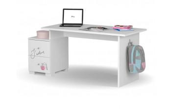 Письменный стол Микс 125 Янг Вайтe Меблик
