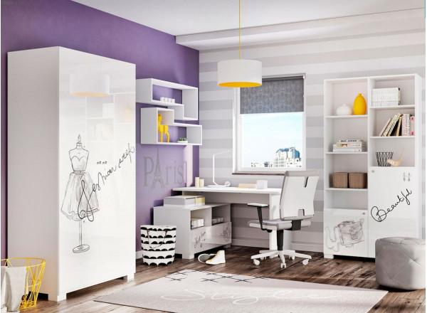 Молодежная комната Fashion Grey Меблик