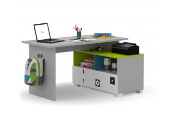 Письменный стол Микс 130 Янг  Grey Меблик