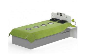 Кровать классика 120х190 ЛОЛ Меблик