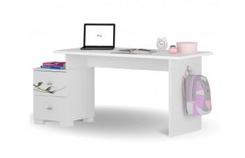 Письменный стол Микс 125 Янг Вайтe Магнолия Меблик