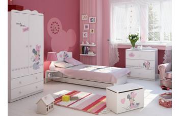 Детска комната для девочки Минни Маус Дисней Меблик