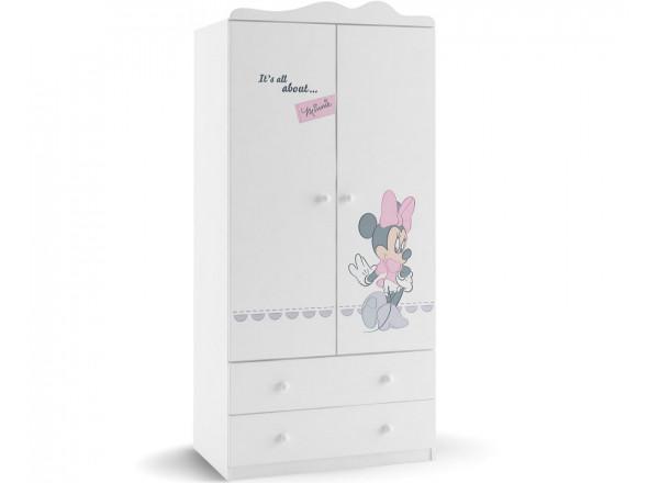 Шкаф 2-х дверный Минни Маус Меблик