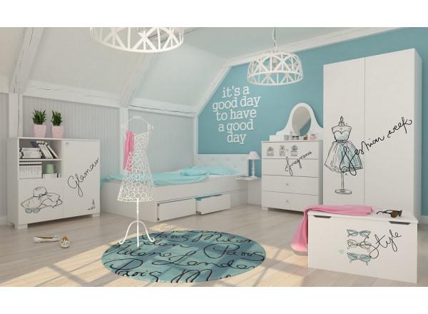 Молодежная комната Fashion Mint Меблик