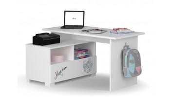 Письменный стол Микс 140 Янг Вайтe Меблик