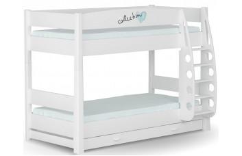 Кровать 2-ярусная 90x190 Фэшн Mint  от Меблик