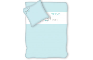 Постельное белье 160х200 + наволочка Fashion Mint Меблик