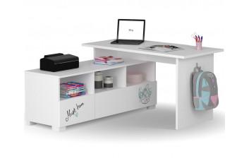 Письменный стол Микс 130 Янг Вайтe Меблик