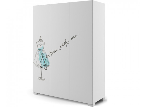 Шкаф з-х дверный 150 Фэшн Mint  Меблик