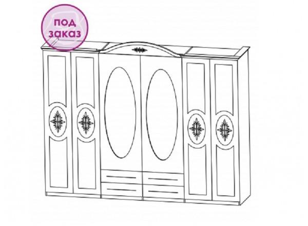 Шкаф для одежды СП-001-06