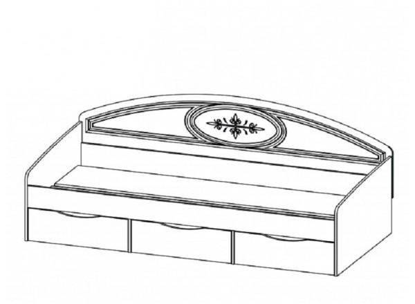 Кровать СП-001-12П
