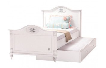 ROMANTIC RM-1301 Кровать без матраса (матрас 100x200) CILEK