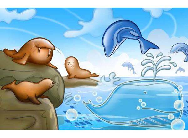 Фотообои Морские обитатели