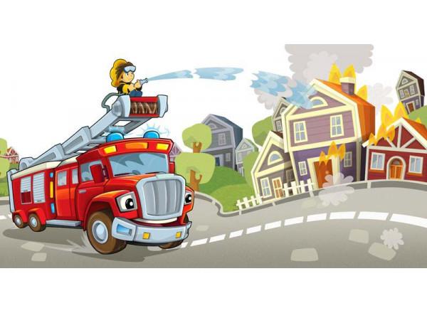Фотообои Пожарник