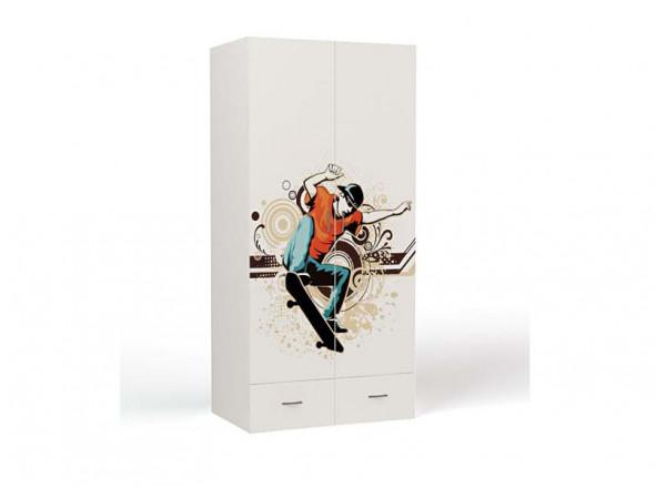 Шкаф 2-х дверный Skate