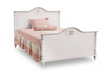 ROMANTIC RM-1304 Кровать без матраса (матрас 120x200) CILEK