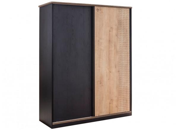Шкаф большой, со сдвижными дверями BLACK 1003 Cilek