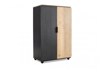 Шкаф двухдверный низкий BLACK 1004 Cilek