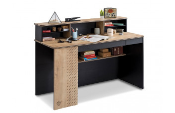 Письменный стол L Black