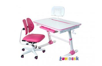 Детская парта FunDesk Carezza и ортопедическое кресло SST2