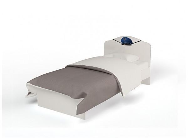Кровать классика c низким изножьем
