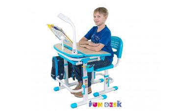 Парта-трансформер и регулируемый стул FunDesk Cura