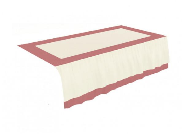 Покрывало на кровать с продольным изголовьем Маркиза