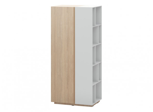 Шкаф с книжным стеллажом