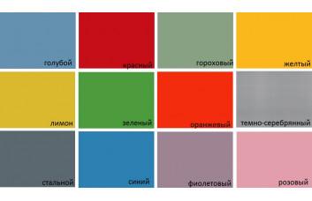 Накладки цветные металлические YOUNG USERS